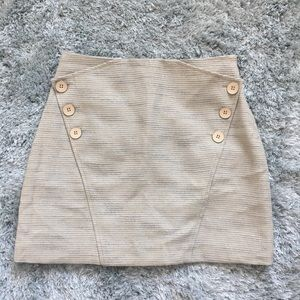 NEW Ted Baker button front skirt